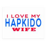 I Love My Hapkido Wife Postcard