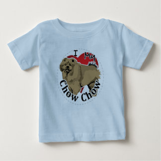 I Love My Happy Adorable Funny & Cute Chow Chow Baby T-Shirt