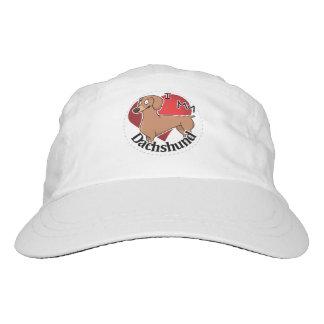 I Love My Happy Adorable Funny & Cute Dachshund Headsweats Hat