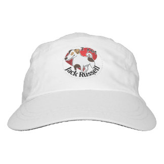 I Love My Happy Adorable Funny & Cute Jack Russell Hat