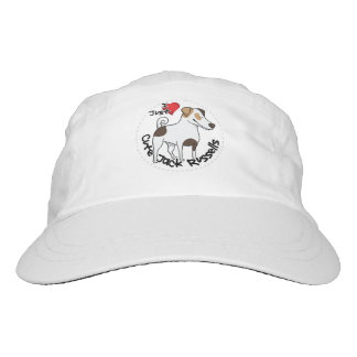 I Love My Happy Adorable Funny & Cute Jack Russell Headsweats Hat