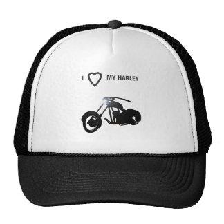 I LOVE MY HARLEY-11_edited-1 Trucker Hats