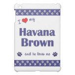 I Love My Havana Brown (Male Cat) iPad Mini Covers