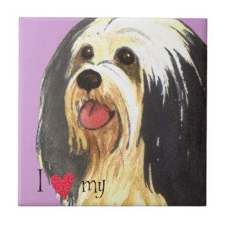 I Love my Havanese Ceramic Tile