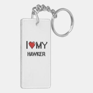 I love my Hawker Double-Sided Rectangular Acrylic Keychain