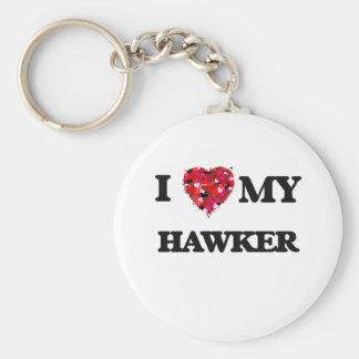 I love my Hawker Basic Round Button Keychain