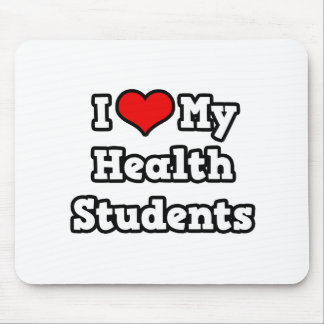 I Love My Health Students Mouse Pad