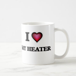 I Love My Heater Coffee Mug