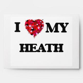 I Love MY Heath Envelopes