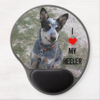 """I love my Heeler"" gel mousepad"