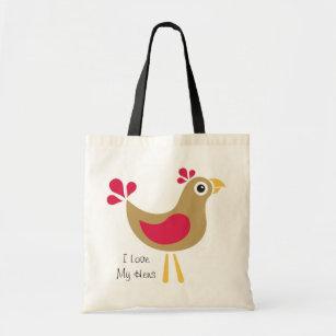 I Love My Hens Tote Bag