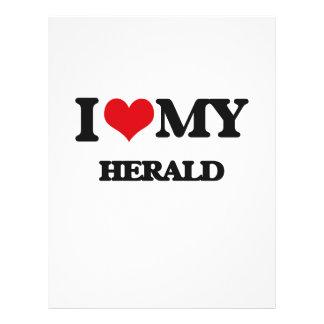 "I love my Herald 8.5"" X 11"" Flyer"