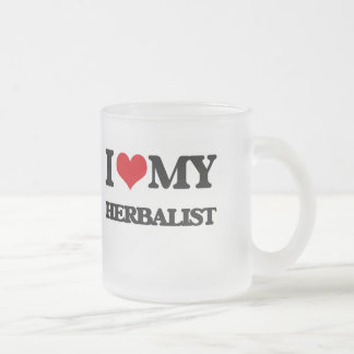 I love my Herbalist 10 Oz Frosted Glass Coffee Mug