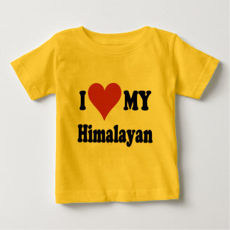I Love My Himalayan Cat Gifts and Apparel Baby T-Shirt