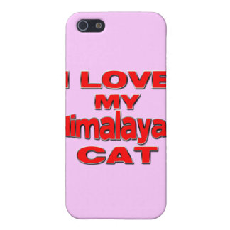I LOVE MY HIMALAYAN CAT rd Case For iPhone SE/5/5s