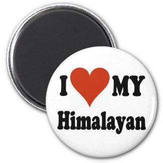 I Love My Himalayan Fridge Magnets