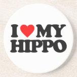I LOVE MY HIPPO COASTER