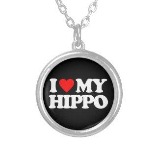 I LOVE MY HIPPO PENDANTS