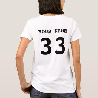 I Love My Hockey Goalie T-Shirt, Back Print T-Shirt