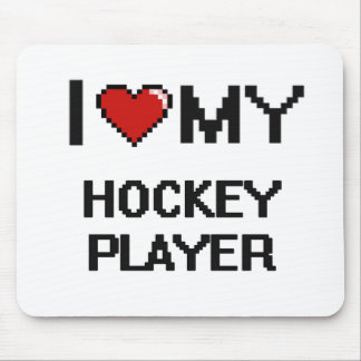 I love my Hockey Player Mouse Pad