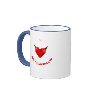 I Love My Homebrew Mugs