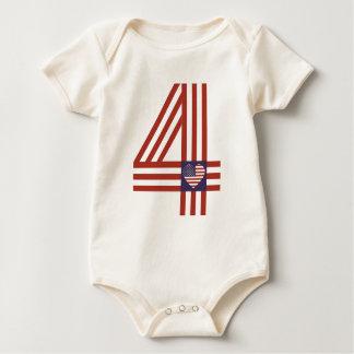 I love my homeland baby bodysuit
