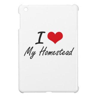 I Love My Homestead iPad Mini Cover