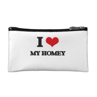 I Love My Homey Cosmetics Bags