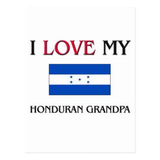 I Love My Honduran Grandpa Post Card