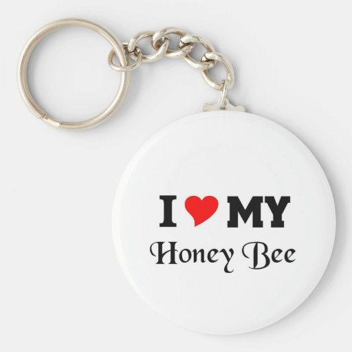 I love my Honey Bee Key Chains
