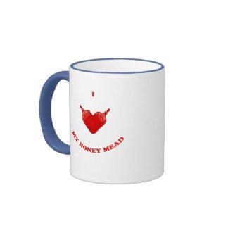 I Love My Honey Mead Ringer Mug
