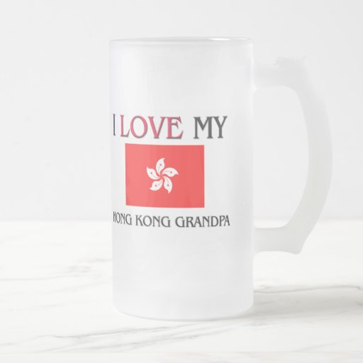 I Love My Hong Kong Grandpa Mug