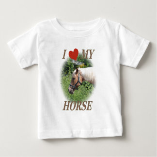 I love my horse baby T-Shirt