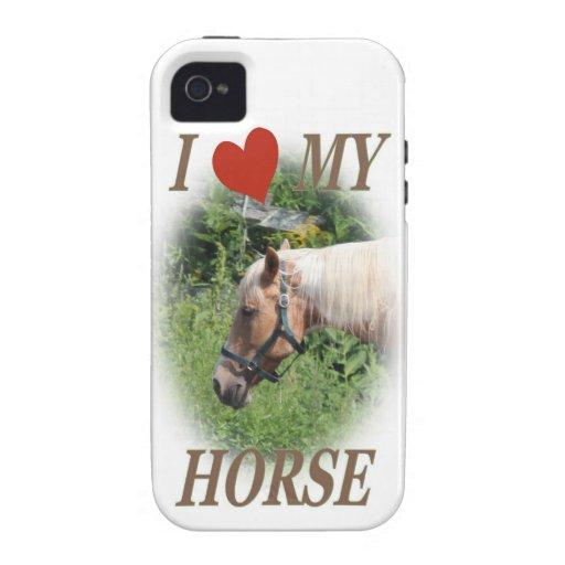 I love my horse iPhone 4 case