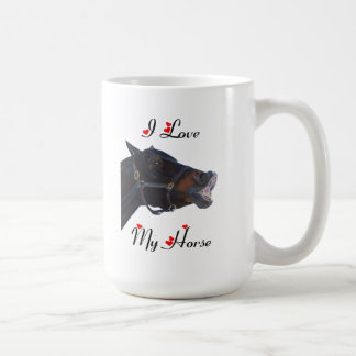 I Love My Horse! Funny Mug