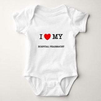 I Love My HOSPITAL PHARMACIST Baby Bodysuit