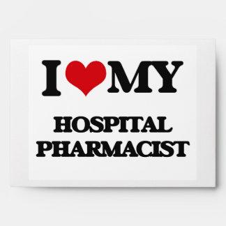 I love my Hospital Pharmacist Envelopes