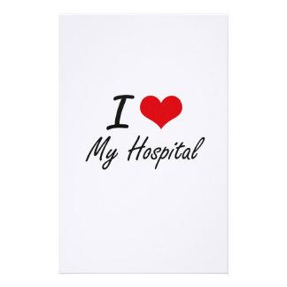 I Love My Hospital Stationery