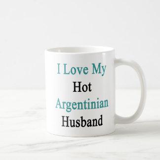 I Love My Hot Argentinian Husband Coffee Mug