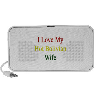 I Love My Hot Bolivian Wife Travelling Speaker