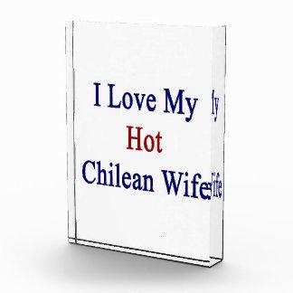 I Love My Hot Chilean Wife Award