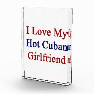 I Love My Hot Cuban Girlfriend Award