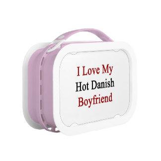 I Love My Hot Danish Boyfriend Lunch Box