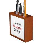 I Love My Hot Egyptian Girlfriend Pencil/Pen Holder