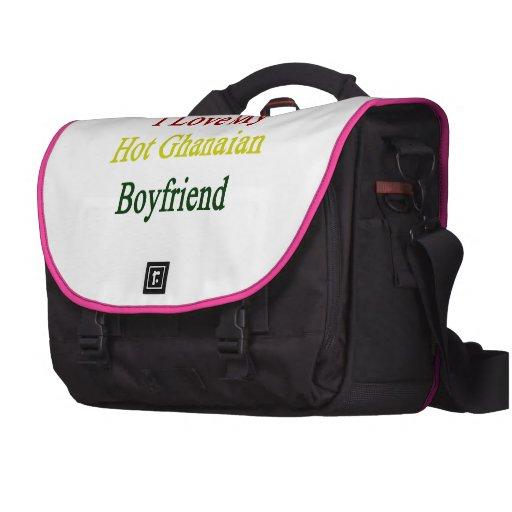 I Love My Hot Ghanaian Boyfriend Laptop Computer Bag