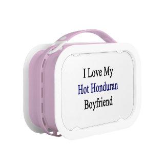 I Love My Hot Honduran Boyfriend Replacement Plate