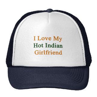 I Love My Hot Indian Girlfriend Trucker Hat
