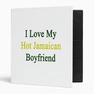 I Love My Hot Jamaican Boyfriend Vinyl Binder