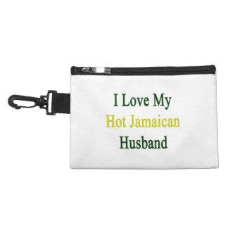 I Love My Hot Jamaican Husband Accessory Bags