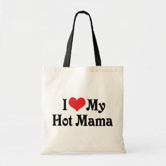I Love My Hot Mama Tote Bag